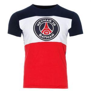T-SHIRT Neymar Jr Batman T-shirt bleu garçon PSG x Justice