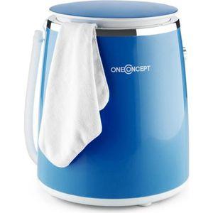 MINI LAVE-LINGE oneConcept Mini machine à laver avec essoreuse pou
