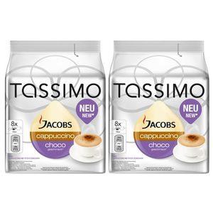 CAFÉ TASSIMO Jacobs Cappuccino Choco 16 Dosettes