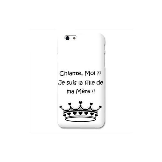 coque iphone 7 humour moi chiante b