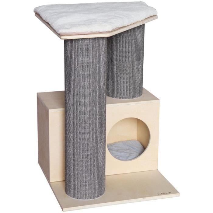 VADIGRAN Grimpoir Urban XL Castle - 60x60x87 cm - Pour chat