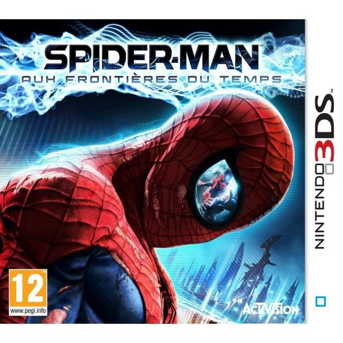 spider man aux frontieres du temps jeu 3ds achat vente jeu 3ds spider man aux. Black Bedroom Furniture Sets. Home Design Ideas