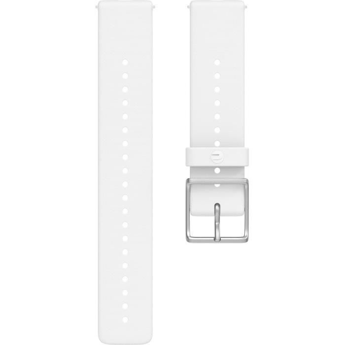 POLAR Bracelet interchangeable IGNITE Blanc M/L