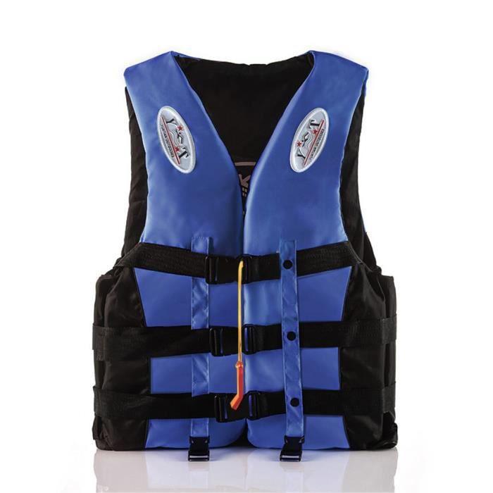 Gilet de sauvetage pour adultes Gilet de sauvetage Kayak Ski Flottabilité Bateau de pêche Sports nautiques PACK PRODUITS DE FITNESS