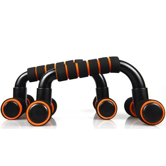 DAMILY® Poignées d'appui pour Pompe/Push-Up Musculation portable push-up Équipement de fitness à domicile