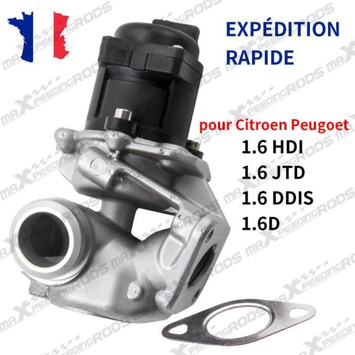 Vanne EGR pour Citroen C3 C4 C5 pour Peugeot 206 207 307 308 407 1.6HDI 1618NR 161859 9649358780