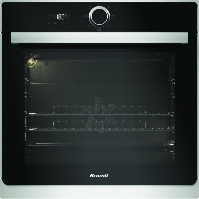 BRANDT BXE6532X - Four multifonction - 73 L - Classe A - Inox