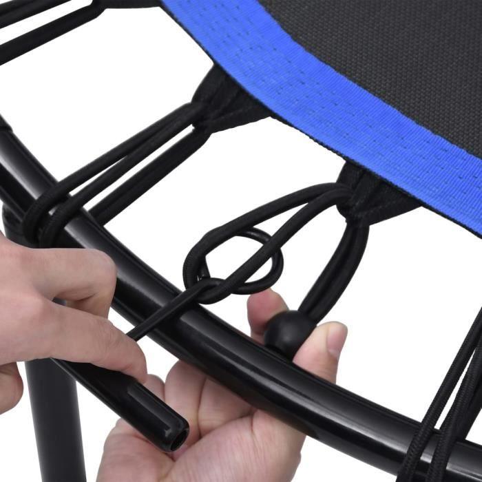QID Trampoline de fitness avec poignée 122 cm QID16658