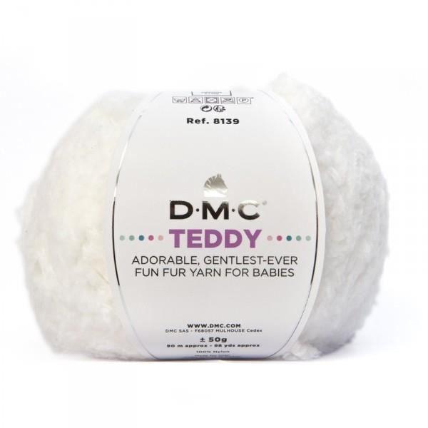 Laine TEDDY, DMC 310 Blanc