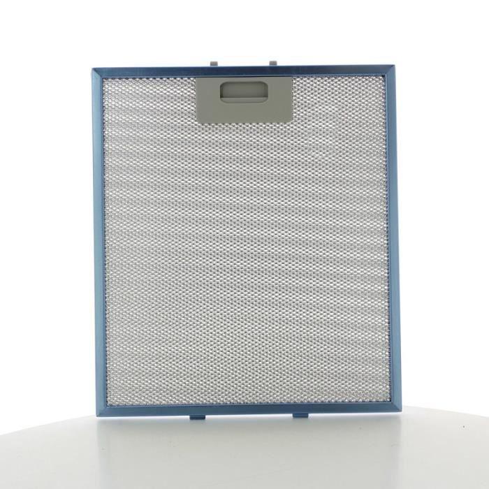 Filtre métal 267x305x8mm GRI0009219A pour Hotte ELICA