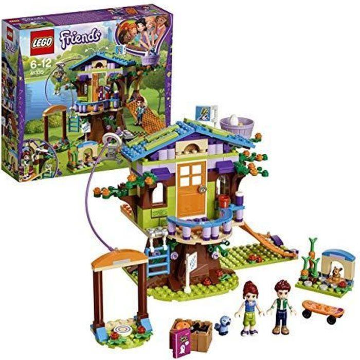 LEGO®-Friends La cabane dans les arbres de Mia Jouet pour Fille et Garçon à Partir de 6 Ans et Plus, 351 Pièces 41335 41335