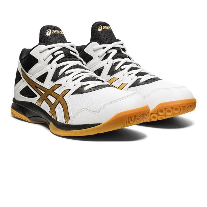 Asics Hommes Gel-Task MT 2 Chaussures De Sport En Salles Basketss Blanc Squash