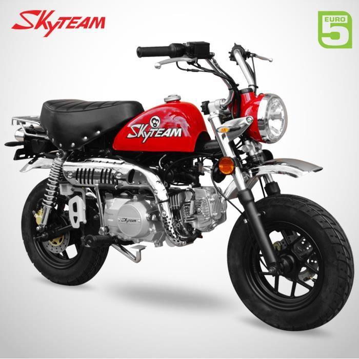Mini Moto - MONKEY 125 - Rouge - SKYTEAM