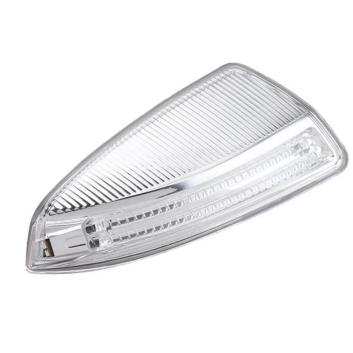 la Porte LatéRale les Lampes à LED,Aile de Porte Miroir Clignotant pour Mercedes-Benz W204 W164 ML Classe ML300 - la Droite