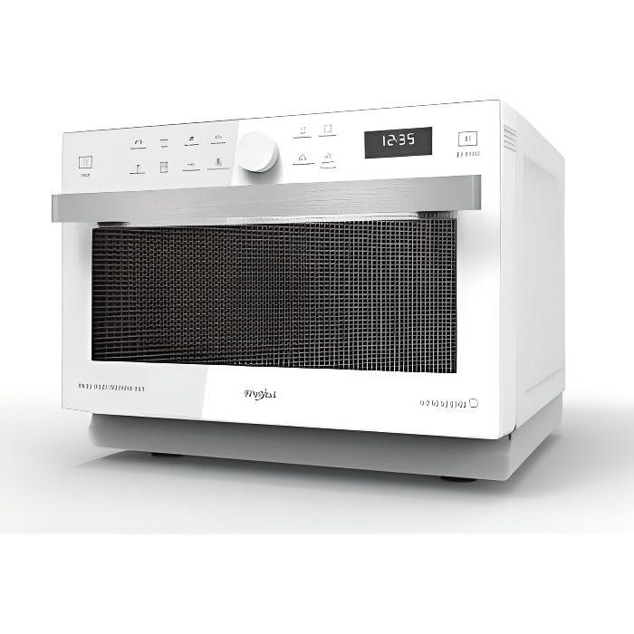 Micro-ondes, combi, 33L, crisp, vapeur, 40 recettes automatiques, cavit