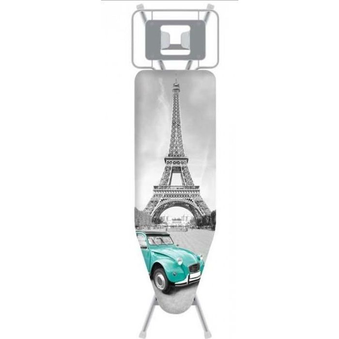 HOUSSE TABLE A REPASSER DESIGN PARIS 122 X 42 CM 484000008535 Toutes tables 122x42 CM