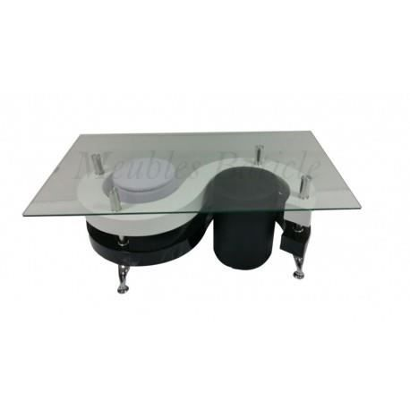 Table Design Noir Et Blanc