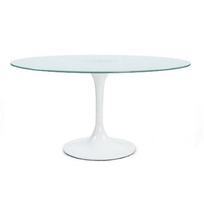 Table tulipe 8 personnes