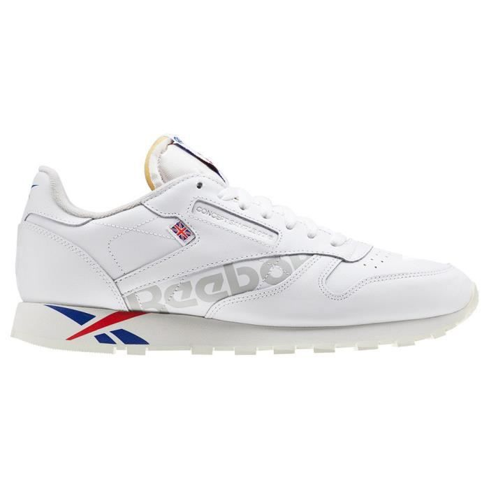 new high quality incredible prices free delivery Chaussures homme baskets reebok classics leather mu. cuir ...