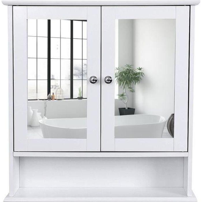 Meuble salle de bain,Armoire de Toilettes, Murale, Salle de ...