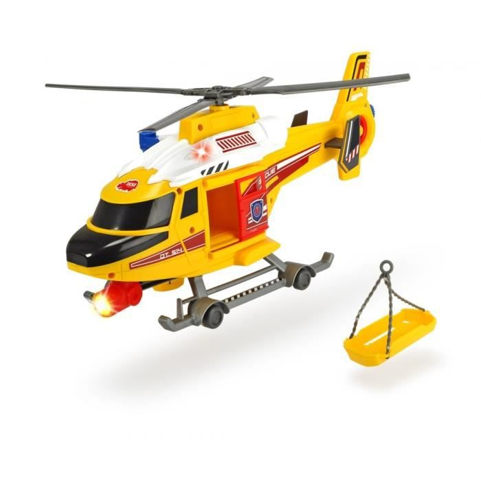 Dickie Helicoptere Jaune 41cm Achat Vente Univers Miniature