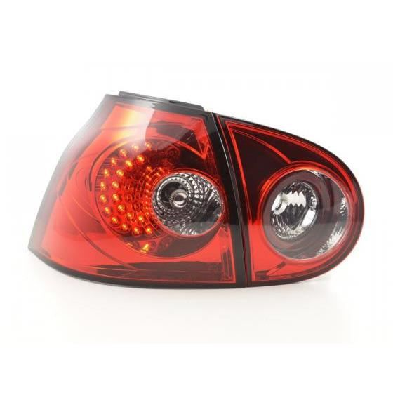 feux arriere led vw golf 5 typ 1k an 2003 2008 rouge achat vente phares optiques feux. Black Bedroom Furniture Sets. Home Design Ideas