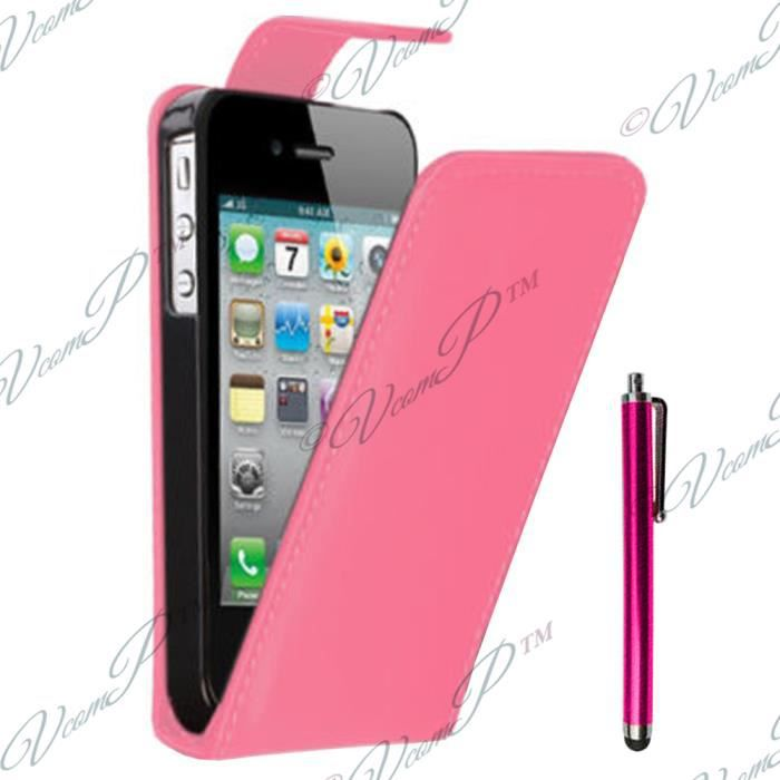 Etui simili cuir apple iphone 3g 3gs achat housse for Housse iphone 3g