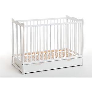 LIT BÉBÉ Lit bébé en bois - Ala plus - L 124 cm x P 71 cm