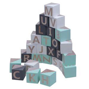 FOND DE STUDIO 26pcs en bois massif 26 Alphabet anglais Ornements