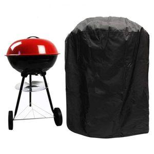 HOUSSE - BÂCHE Housse Barbecue Rond, Bâche de Protection Rond BBQ