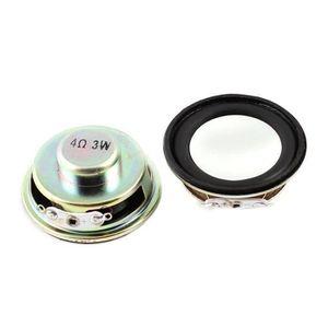 HAUT PARLEUR VOITURE 3W 4 Ohm METAL rond Haut-parleurs magnetique 2 pcs
