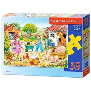 CASSE-TÊTE Castorland B-035076 - Puzzle - Ferme - 35 Pièces Q
