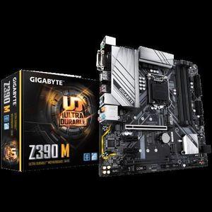 CARTE MÈRE GIGABYTE Z390 M S1151V2 UATX Z390 U3.1+M2 SATA 6GB