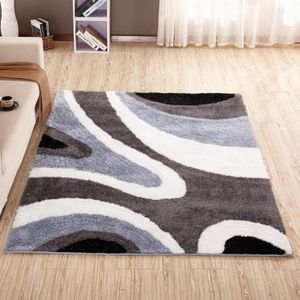 tapis gris et rouge achat vente tapis gris et rouge pas cher cdiscount. Black Bedroom Furniture Sets. Home Design Ideas