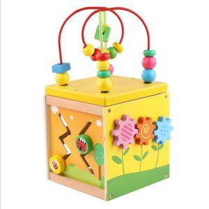 TABLE JOUET D'ACTIVITÉ Cube de Motricité Insectes