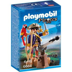 UNIVERS MINIATURE PLAYMOBIL 6684 - Pirates - Capitaine Pirate Avec C