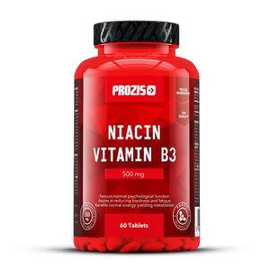 ACIDES AMINÉS PROZIS - Niacine vitamine B3 500 mg 60 gélules -