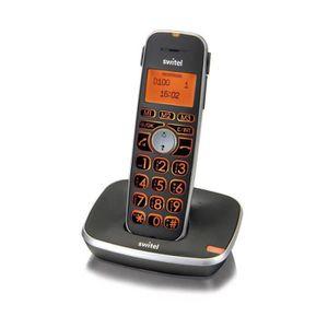 Téléphone portable SWITEL D100 Téléphone sénior sans fil, amplifié, a