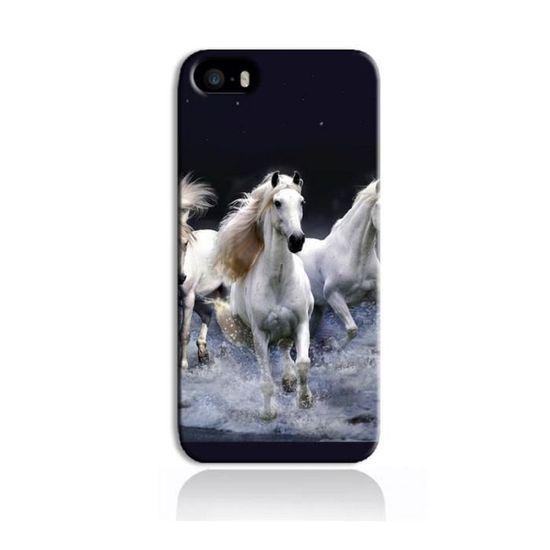 coque iphone se chevaux