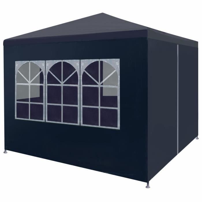 Guide® Tonnelle de jardin Tente de réception - Tonnelle de réception Barnum 3 x 3 m Bleu @97917
