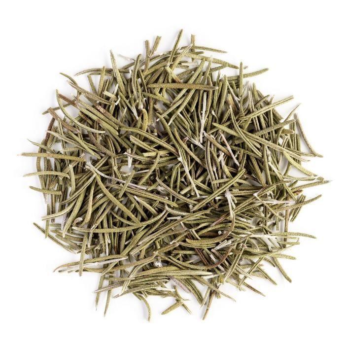 Romarin Séché Herbe Aromate Bio - Idéal Pour Relever Vos Plats - Rosmarinus Officinalis - Origine Grèce - Rosemary 100g