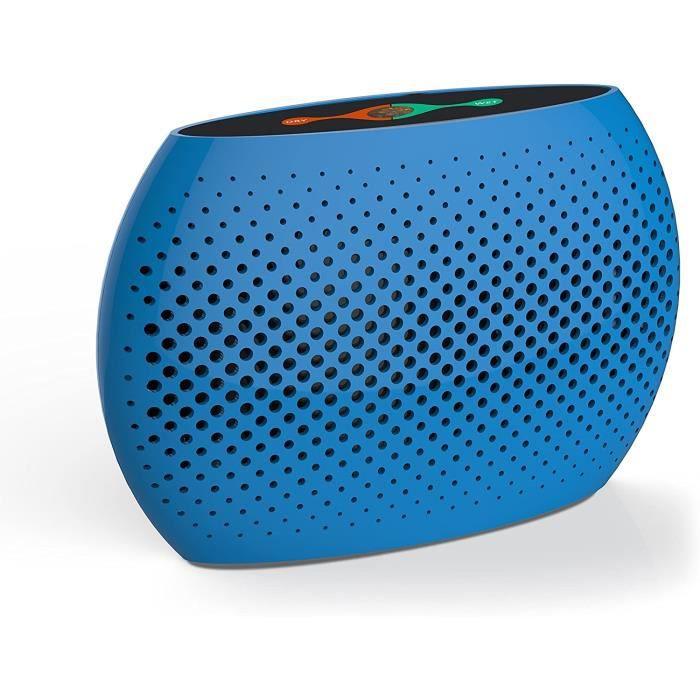 Mini déshumidificateur électrique, déshumidificateur électronique portable domestique, déshumidificateur régénérateur (blue)