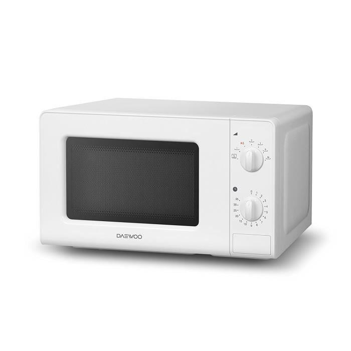 Daewoo KOR-6F07 Four micro-ondes manuel sans grill Blanc 20 l: Cuisine & Maison