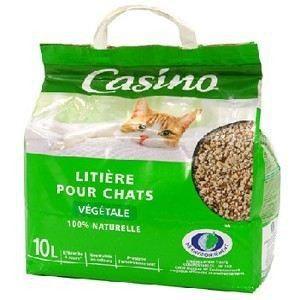Litière végétale - Pour chat - 10L