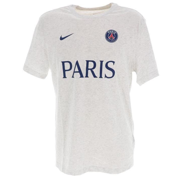 Tee shirt manches courtes Psg tee paris h blanc - Nike