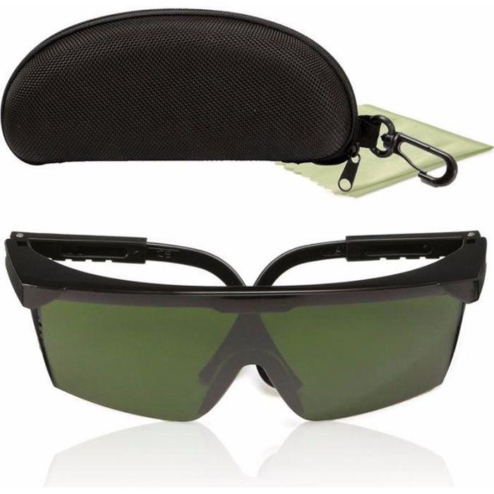 200nm-2000nm Goggles Lunettes de Protection Rouge Vert Bleu Laser IPL-2 OD+4D