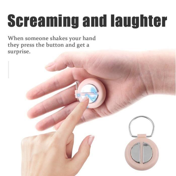 Shocking drôle Main Buzzer Joke Shock Toy Prank Nouveauté drôle électrique Buzzer