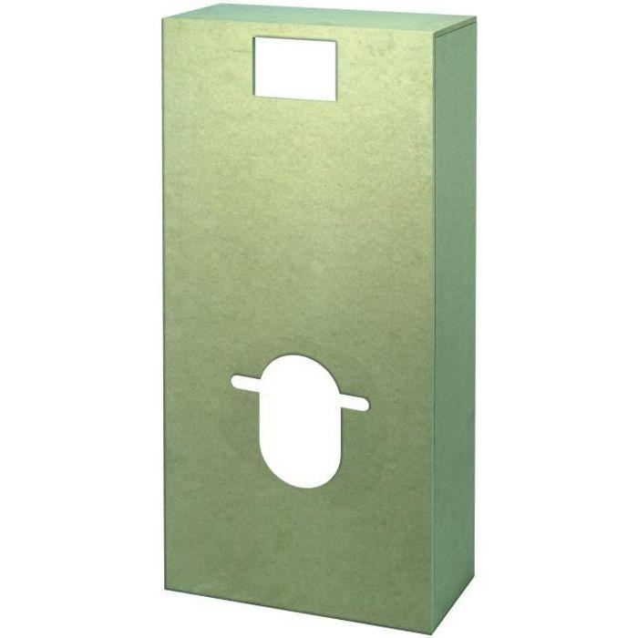 WIRQUIN Habillage PEFC Bati WC à peindre Cover