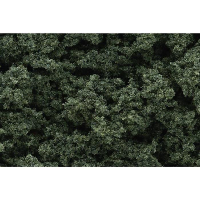 Matériau de feuillage Woodland Scenics WFC684 vert foncé 82 g - TERRAIN A CONSTRUIRE - NATURE A CONSTRUIRE - DECOR A CONSTRUIRE