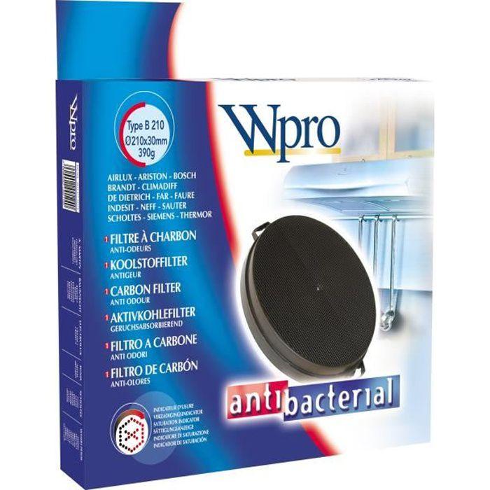 WPRO Filtre pour hotte FAC539